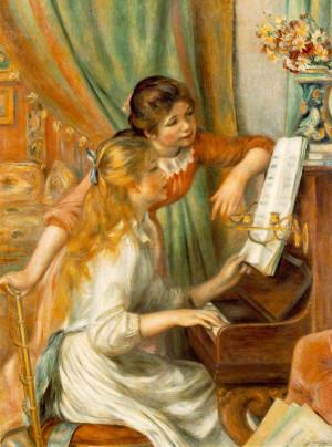 Jeunes filles au piano (Girls at the Piano)