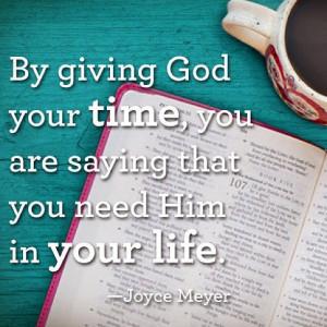 Joyce Meyer Follow us at http://gplus.to/iBibleverses