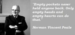 Norman vincent peale famous quotes 2