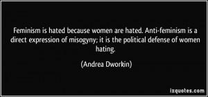 Anti Feminism Quotes