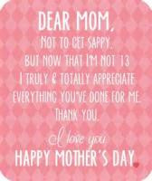 ... below to download : Happy Mother's Day To A Dear aunt (Format : PDF