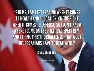 Abdallah Ii Of Jordan