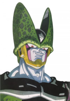 Cell DBZ Picture