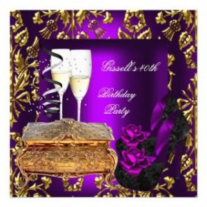 damask 40th birthday 40th birthday party planning ideas 40th birthday ...