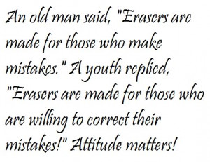 bad attitude attitude is little thing my attitude i don