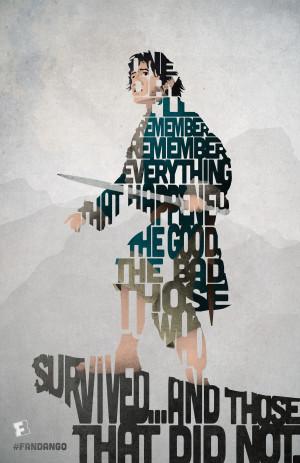 Exclusive: 'The Hobbit' – Bilbo-Quote Poster