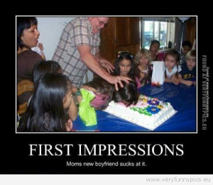 Funny Picture - First impressions