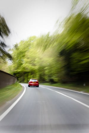 Speeding Car Photography