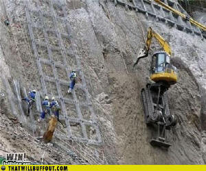 Funny Construction Photo. Construction Accident Photos.