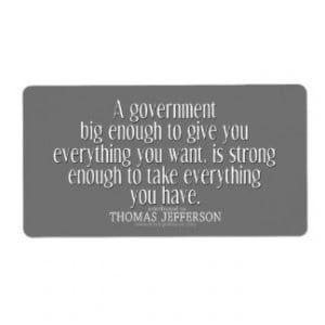 Big Government Cards & More