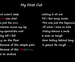 poem I wrote about Cutting (Self Harm)