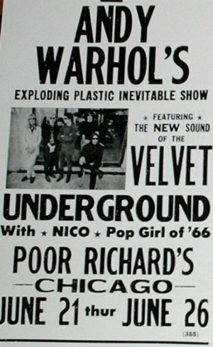 Velvet Underground / Andy Warhol's Exploding Plastic Inevitable Show