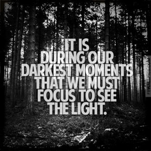 Our Darkest Moments Aristotle Onassis Quote Picture