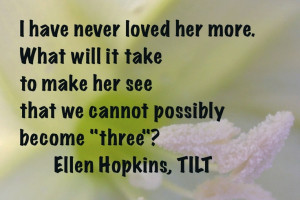 Quote of the Day, from TILT (out in nine days!)