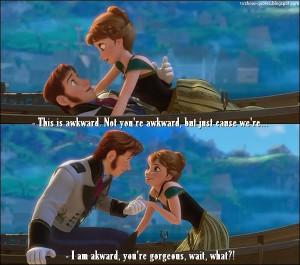 Frozen - Quote - Awkward