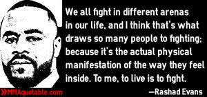 Rashad Evans Quotes