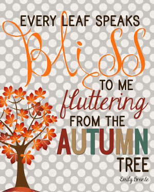 Fall Is Here Quotes This is a lovely quote from