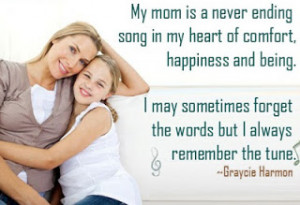 ... Because I'm loving my mom... Since i opened my eyes.Happy Mother's day