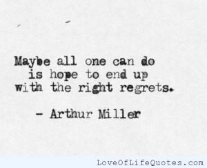 Regret Love