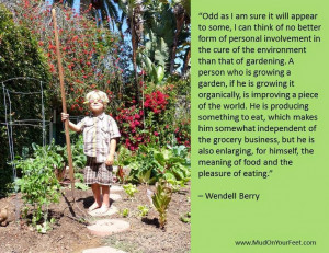 Monday Meditation (from the garden)