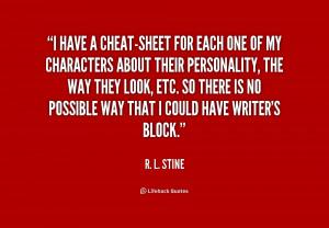 Stine Quotes