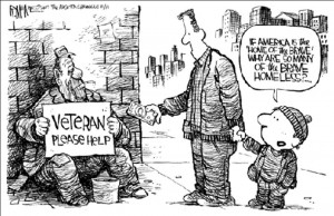 Homeless vets more likely to die on the streets