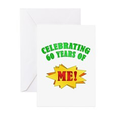 60Th Birthday For Men Greeting Cards
