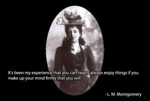 Lucy Maud Montgomery Quotes