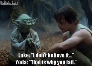 Memorable Star Wars Quotation