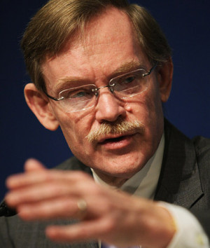 World Bank Group President Robert B. Zoellick speaks during a press ...