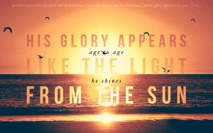 inspired by hillsong s his glory appears from their faith hope love ...