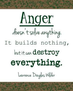 For men who abuse their families: Anger is a feeling that can lead to ...