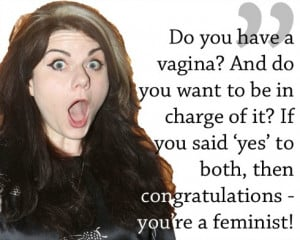 Caitlin Moran, pictured above, is never afraid to Speak Up. I just ...