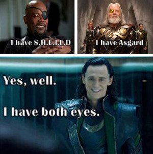 funny-Nick-Fury-Odin-Loki-eyes
