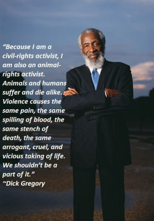 Dick Gregory.. Comedian. Activist. Author. Philosopher. Living Legend.