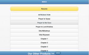 BHAGAVAD GITA ENGLISH - screenshot