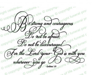 My confirmation verse and our Wedding verse.