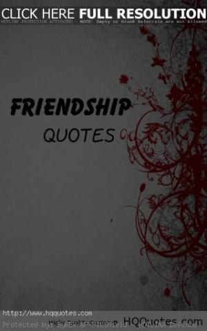 Friendship Quotes - Quotes And Sayings