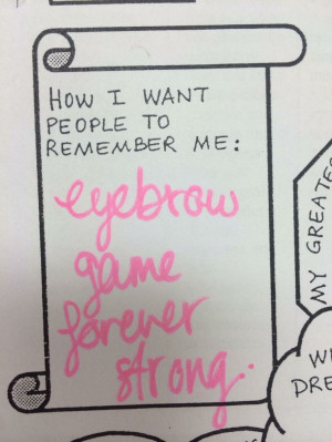... Eyebrows Games, Eyebrows Quotes, Makeup, Funny, Make Me Laugh
