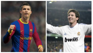 Cristiano Ronaldo Lionel Messi Funny HD Wallpaper