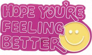 3190 Hope You're Feeling Better