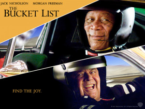 HAVE YOU MADE THE BUCKET LIST(MOVIE REVIEW)