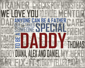 Like Father Like Son Quotes Be a father quote- special