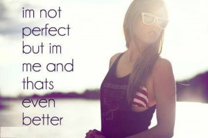 Quote of the Day Just be yourself