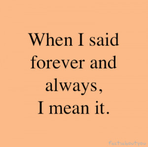 emo, forever, incorrect tense, love, mean, quotes