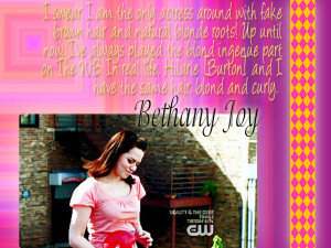 Bethany Joy Lenz quote