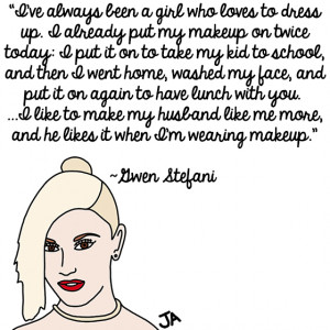 OC Weekly shared their favorite Gwen Stefani quotes.
