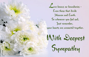 Condolence Quotes Words & Sayings