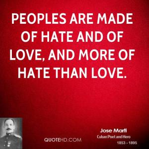 Jose Marti Quotes