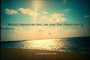 Life, Second Chances Quotes